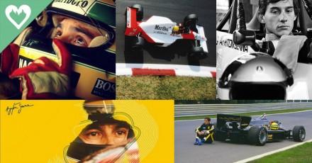 Homenagem ao Ayrton Senna no mundo inteiro!