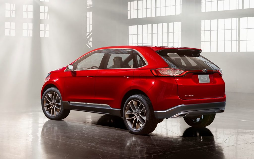2017-Ford-Edge-Sport-Hybrid-Exterior-Red-Color-Rear-Review-Concept