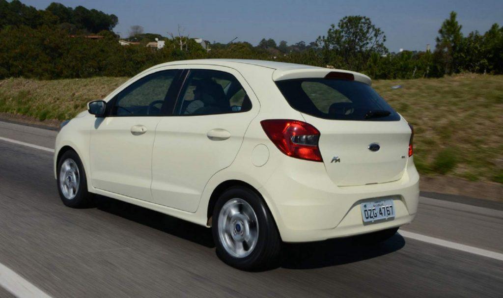 O que seria um popular, Ka não baixa de R$ 40.590, na Ford.