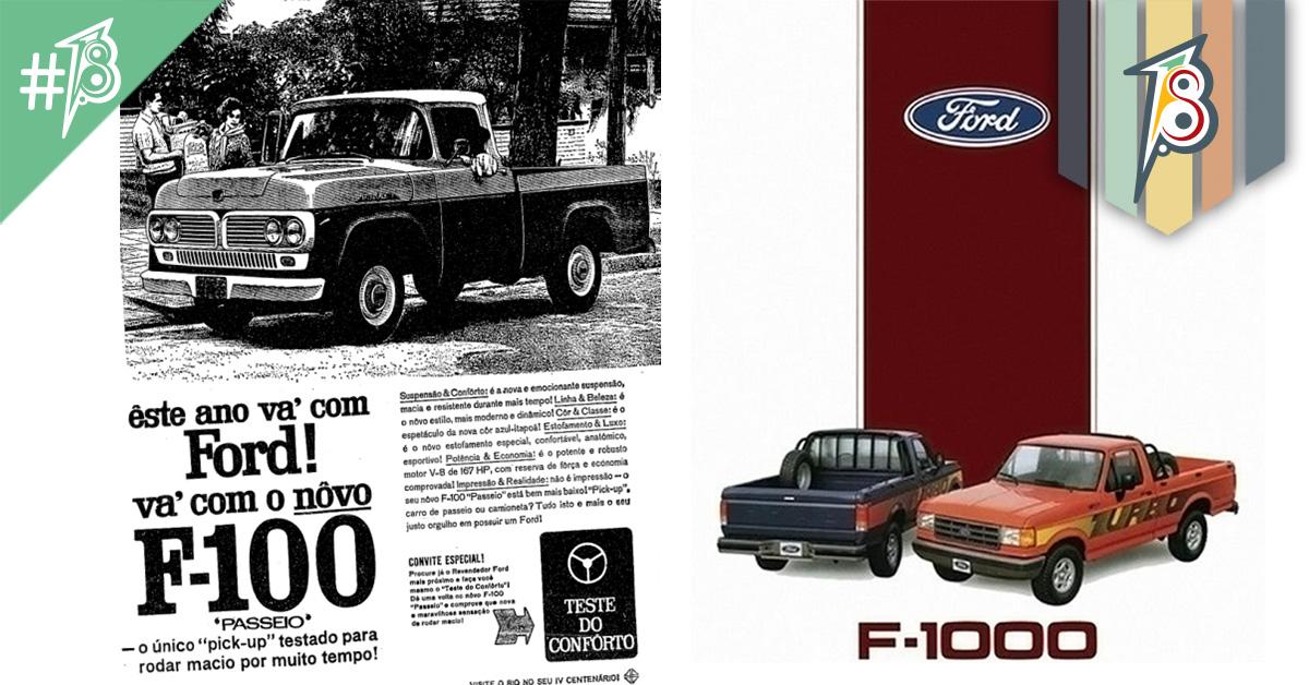 Os grandes clássicos brasileiros: F100 e F1000