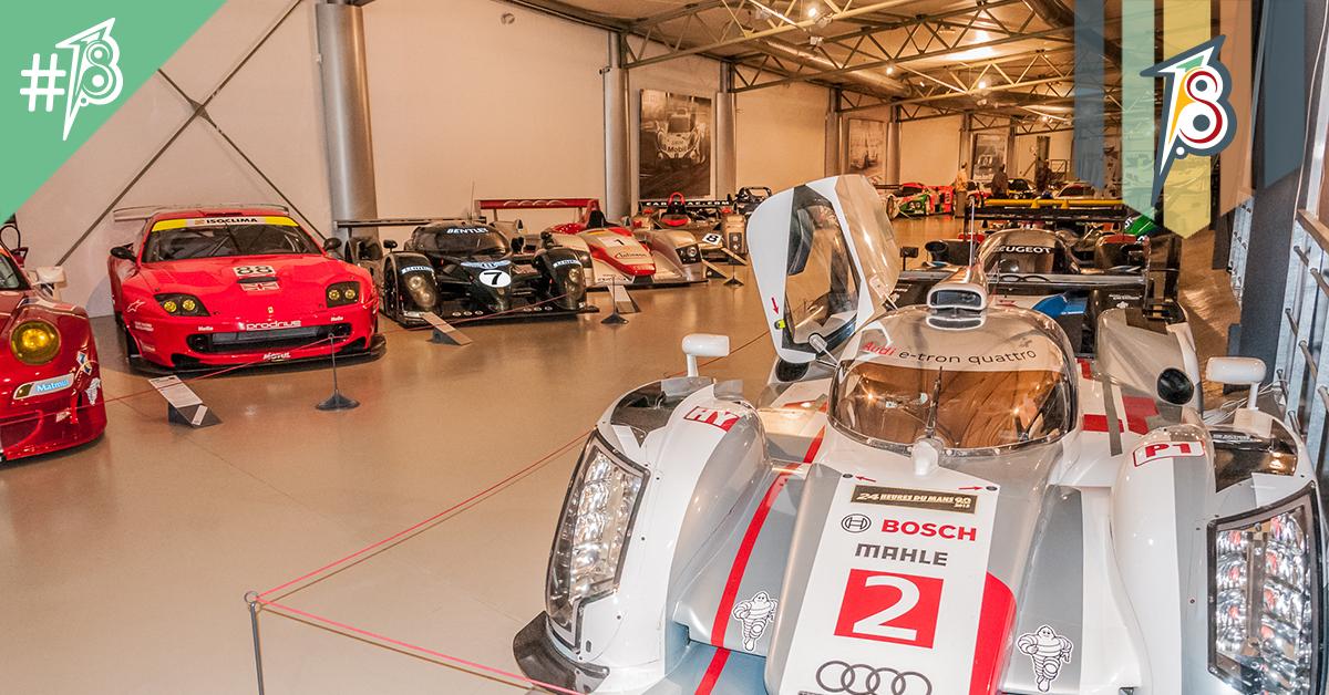 Museu das 24h de Le Mans: mais do que sonho