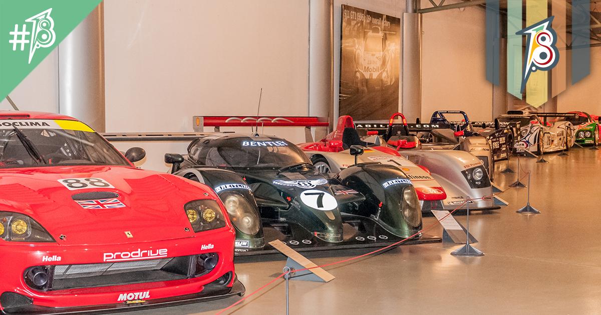 As máquinas do Museu das 24h de Le Mans