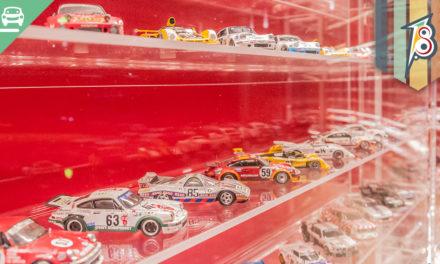 Réplicas em miniatura do Museu das 24h de Le Mans