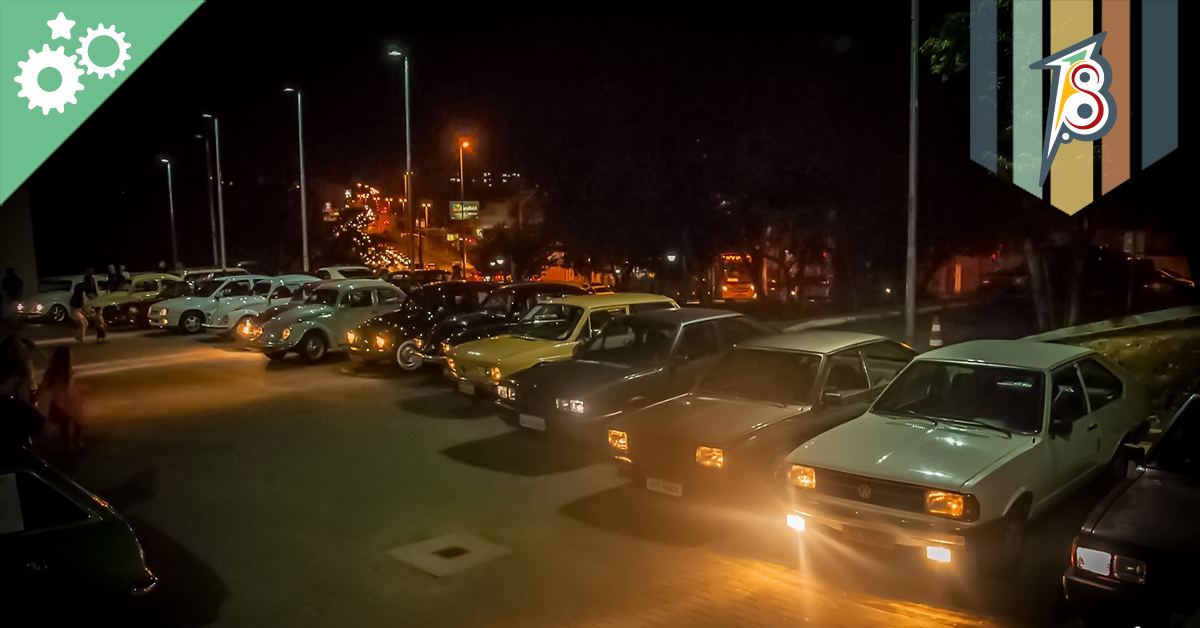1º Encontro noturno: Auto Jd. Itália Clássicos