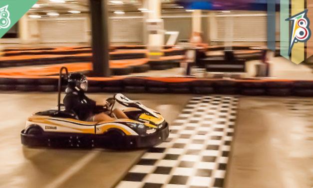 Kart indoor com infraestrutura de padrão internacional