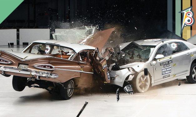 Crash Tests: segurança à toda prova.